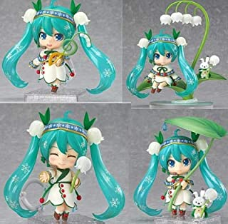EXTOY 2019 New Nendoroid #493 Snow Miku Figure Ver. PVC Action Figure Collectible Model Toy 10Cm Figma 3D Model New Must Haves 5 Year Old Boy Gifts The Favourite Superhero Dream UNbox Switch