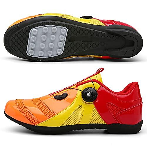 DSMGLRBGZ Chaussure VTT, 36-47 Respirant Antidérapant, Amorti pour Homme Femme Enfant Chaussures...