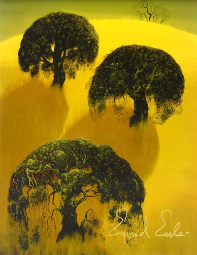 The Complete Graphics of Eyvind Earle and Selected Poems, Drawings and Writings by Eyvind Earle 1991-2000