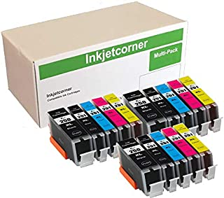 Inkjetcorner Compatible Ink Cartridges Replacement for PGI-250XL CLI-251XL for use with MX922 MG5520 MG5522 MG5422 MG6420 MG5420 (15 Pack)