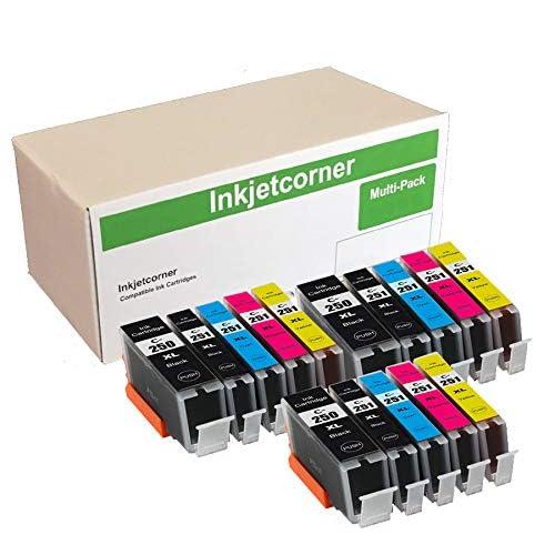 50 PK Printer Ink Set with chip for PGI-250XL CLI-251XL MG5620 MG6600 MX922