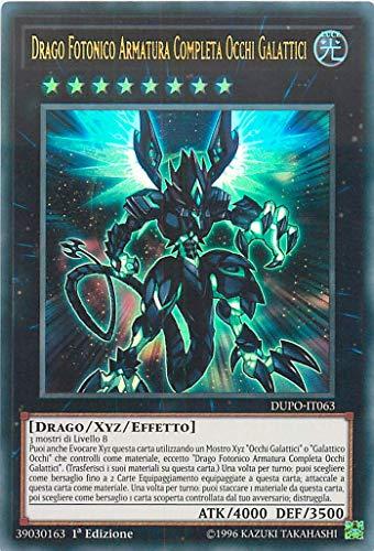 Yu Gi Oh! - Drago Fotonico Armatura Completa Occhi Galattici DUPO-IT063 - Ultra Rara - Il Potere del Duello - Italiano