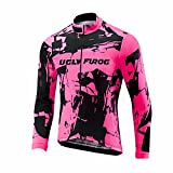 Uglyfrog 2019 Manga Larga Maillot Ciclismo De Hombre Otoño Ropa De Triatlon Transpirables Spring&Autumn Style ESHDZ41