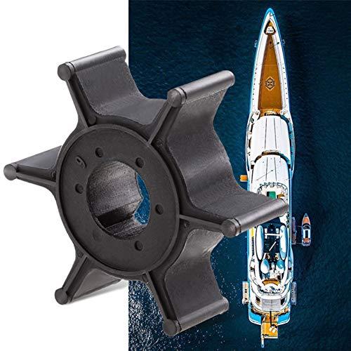 DNKKQ Duradero Bomba de Agua Barco de Motor Rotor Rotor 6 Cuchillas for Yamaha 4/5/6 HP 2/4-Stroke Motor Fuera de borda Etc Reemplazar 6E0-44352-00-00/003 Fácil de Instalar (Color : 2 PCS)