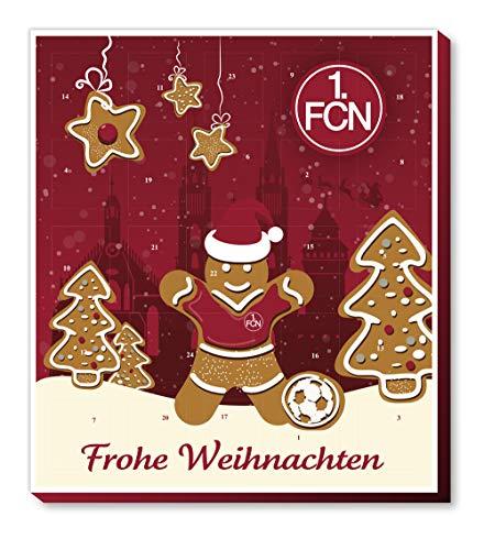 1. FC Nürnberg Adventskalender mit Schokolade