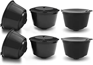 Coffee Filters - 6 Pcs Refillable Capsules Reusable Replacement Coffee Pod Capsule Filter Black - Amazon Un Mr Drip Xlarge Tall Toddy Gusto Around Accessories