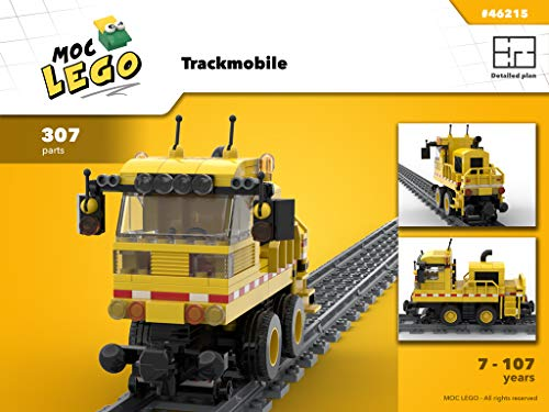Trackmobile (Instruction Only): MOC LEGO (English Edition)