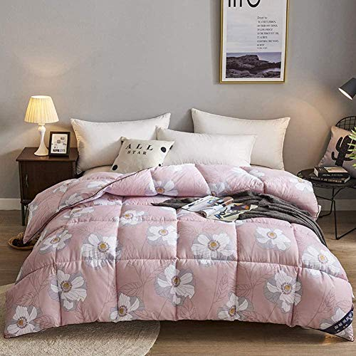King Size Feather Hypoallergenic Comforter Quilt Double Winter Duvet 95% Down-proof Cotton Shell-colour-2_200x230CM/4KG