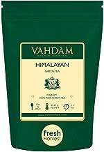 VAHDAM, Green Tea Leaves from Himalayas (50 Cups), 100% Natural Tea, POWERFUL ANTI-OXIDANTS, Brew Hot Tea, Iced Tea or Kombucha Tea, Green Tea Loose Leaf, 3.53oz