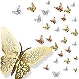 Pegatina de pared de mariposa, mariposas decorativas 3d, Pegatinas pared Decorativas para el hogar,...