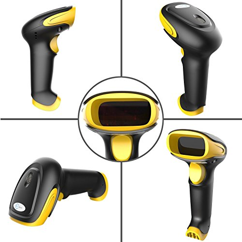 Esky ES017 Handheld USB Wired Barcode Scanner - Automatic 1D and 2D QR Code Reader Photo #6