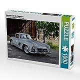 CALVENDO Puzzle Mercedes 300 SL Flügeltürer 1000 Teile Puzzle quer 1000 Pieces 64 x 48 cm from Stefan BAU