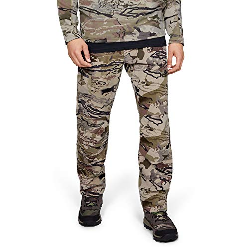 Under Armour Men's Field Ops Pants, Ua Barren Camo (999)/Black, 34/30