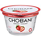 Chobani Strawberry on the Bottom Non Fat Greek Yogurt, 5.3 Ounce -- 12 per case