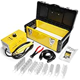 OIMERRY Bumper Plastic Welding Kit with 800pcs Staples, 110V Hot Stapler Gun Plastic Welder