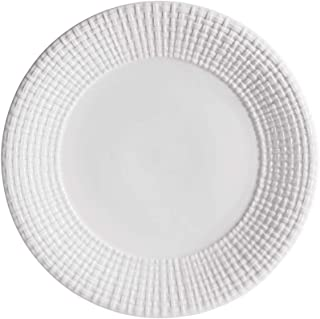 Michael Aram 314550 Palm Dinner Plate, White