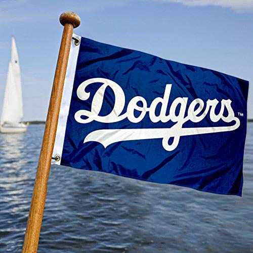 WinCraft Los Angeles Dodgers Boat and Golf Cart Flag