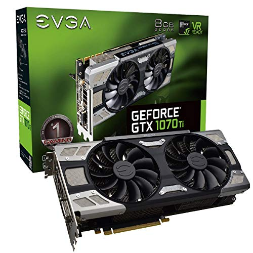 EVGA GeForce GTX 1070 Ti FTW ULTRA SILENT...