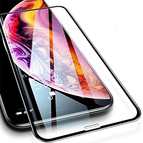 PfX Juego de 2 protectores de cristal templado premium de cerámica 2.0, adecuados para iPhone 12/12 Pro, flexible, versión mejorada 2020 (iPhone 12/12 Pro, transparente)