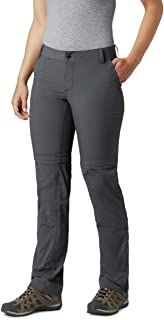 Columbia Women's Silver Ridge 2.0 Convertible Pants, Grey (Grill 028), 4
