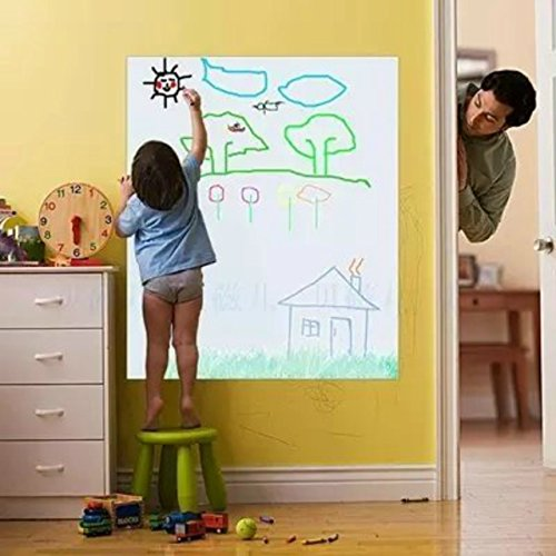 (50% OFF Coupon) Self-Adhesive Dry Erase Whiteboard Sticker $6.50