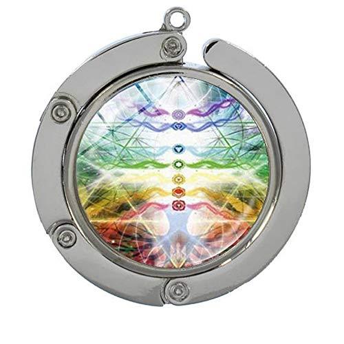 Sunshine Multi-Function Hook, Chakra Yoga Meditation Buddha Purse Hook,Purse Hanger,Gift to her
