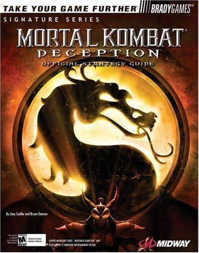 Mortal Kombat: Deception Official Strategy Guide (Official Strategy Guides) by Joey Cuellar (1-Oct-2004) Paperback
