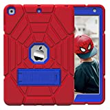 Grifobes Kids Case for New iPad 10.2 2020/2019 - iPad 8th/7th Generation Case for Kids,Heavy Duty Shockproof Rugged Case High Impact Full Body Protective Cover for iPad 8th/ 7th Gen 10.2'