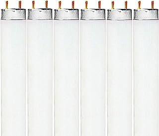 Luxrite LR20740 (6-Pack) F32T8/735 32-Watt 4 FT T8 Fluorescent Tube Light Bulb, Natural 3500K, 2850 Lumens, G13 Medium Bi-Pin Base