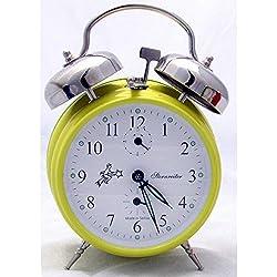 Sternreiter Mechanical Double Bell Alarm Clock – Yellow MM 111 602 38