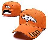Zequansheng Denver Broncos Logo Baseball Cap Classic Schirmmütze One Size Herren Damen