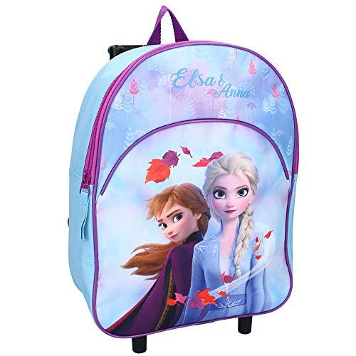 Die Eiskönigin Mochila infantil con ruedas de Elsa & Anna de Disney Frozen II.