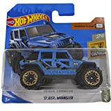 Hot Wheels 17' Jeep Wrangler Baja Blazers 2/10 2019 (13/250) Short Card