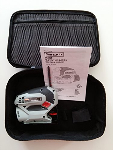 Craftsman Compact Lithium-Ion Nextec 12V Jig Saw 320.33179 with Carrying Case (Bare Tool, No Battery or Charger Included) Bulk Packaged
