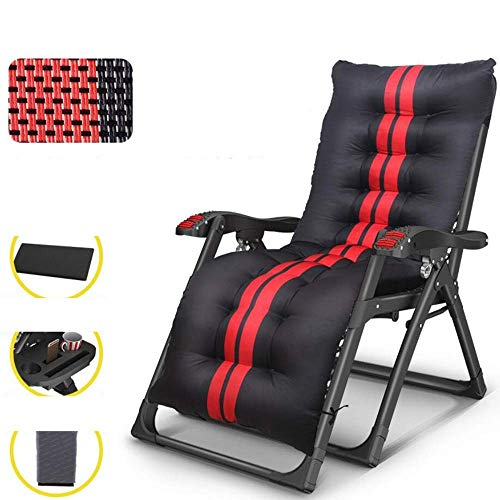 Folding Lounge Chair Portable Sleeper Lunch Break Nap Bed Office Backrest Home Multi-function Adult Chair (Size : 2)