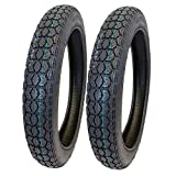 MMG TIRES - Set of Two 2.75-16 (P44) M/C Tires Front or Rear Motorcycle Dual Sport On/Off Road