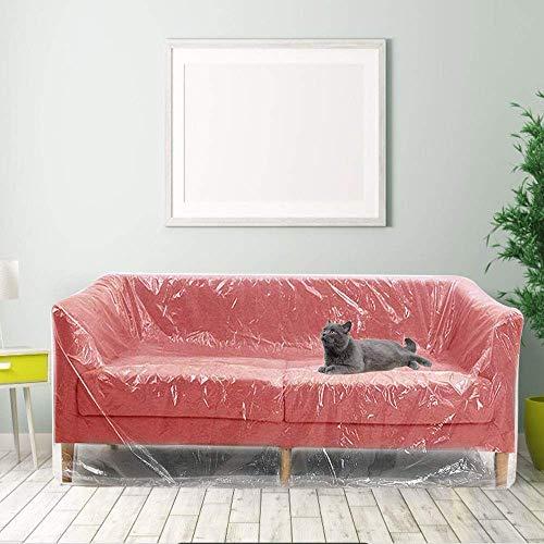Funda de plástico para sofá, Funda Grande para Almacenamiento de sofá, Fundas de plástico para sofá, Fundas Protectoras de sofá, Fundas de plástico para sofá, P