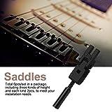 Immagine 1 6pcs roller bridge tremolo saddles