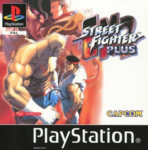PS1 - Street Fighter EX2 Plus