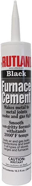 Rutland Products Black 10 3 Fl Oz Cartridge Furnace Cement