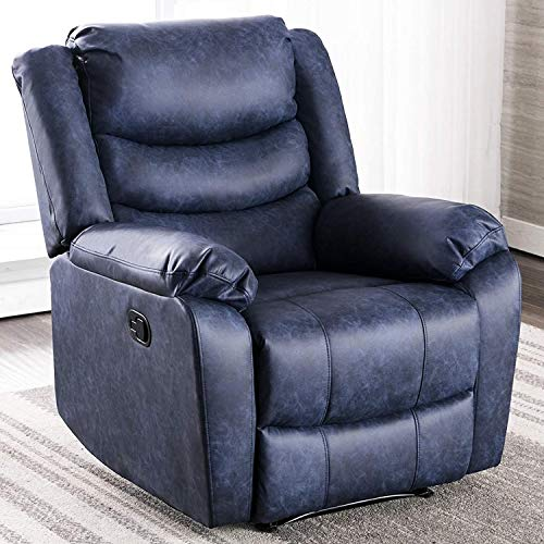 ANJ Recliner Chair with Overstuffed Arm and Back, Breathable...