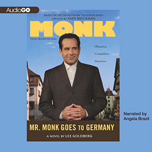 Mr. Monk Goes to Germany audiobook cover art