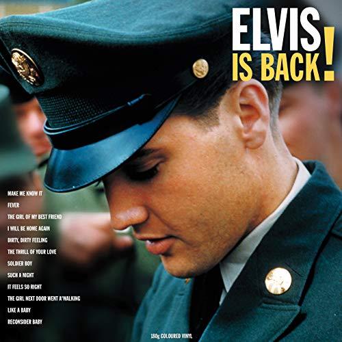 Elvis Is Back! (Vinyl Yellow)