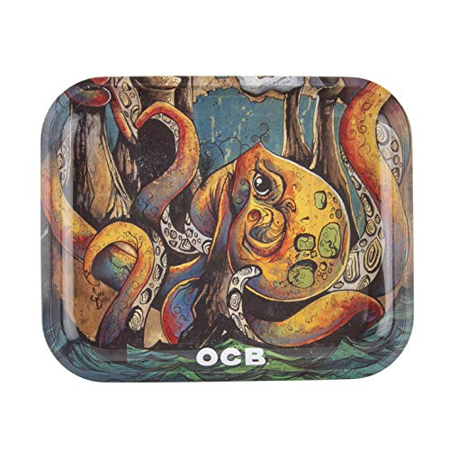 OCB Rolling Tray – Large – Limited Edition Numbered Out Of 5000 – Max Vs Octopus II (2)