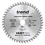 Trend CSB/16048 CraftPro CSB16048 160mm x 48 Teeth x <span class='highlight'>20mm</span> <span class='highlight'>Saw</span><span class='highlight'>blade</span>