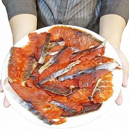 【ポスト投函 日時指定?代引不可】【時価】水産庁長官賞受賞 北海道産【天然鮭100%使用】 スライス 鮭トバ たっぷり200g (味付 燻製 風味) ( とば 鮭とば サケトバ )【写真が200gです】 …