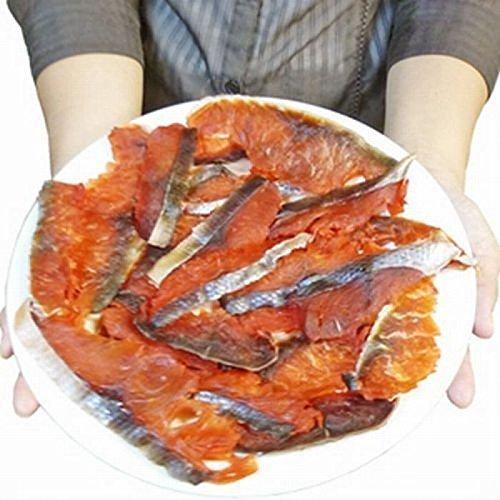 【ポスト投函 日時指定・代引不可】【時価】水産庁長官賞受賞 北海道産【天然鮭100%使用】 スライス 鮭トバ たっぷり200g (味付 燻製 風味) ( とば 鮭とば サケトバ )【写真が200gです】 …