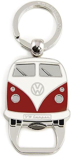 Brisa Vw Collection Volkswagen T1 Bulli Bus Schlüssel Anhänger Flaschenöffner Geschenk Idee Fan Souvenir Retro Vintage Artikel Rot Auto