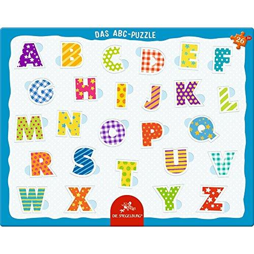 Spiegelburg 13553 Rahmenpuzzle Das ABC (26 Teile)