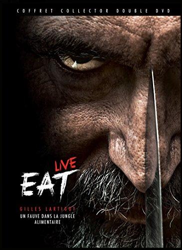 EAT LIVE - Un Fauve dans La Jungle Alimentaire - COFFRET COLLECTOR DOUBLE DVD